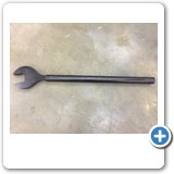 5312 Open End 70mm Wrench for Added Leverage